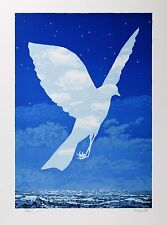 René Magritte - The Emergence (signed & numbered lithograph)