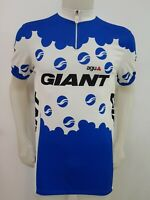 MAGLIA SHIRT CICLISMO AGU GIANT VINTAGE TAG.6 CYCLING ITALY MAILLOT BICI MB286