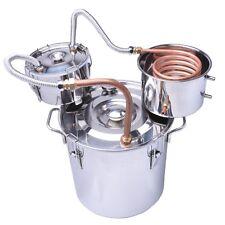 8GAL alcohol distiller Moonshine still Stainless Spirits Boiler with thumper keg