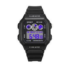 Luxury Men's WatchAnalog Digital Military Army Sport LED Waterproof Wrist Watch