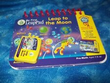 Leap Frog My First LeapPad LEAP TO THE MOON Book & Cartridge