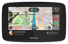 "NEW TomTom GO 520 WORLD MAPS WIFI 5"" GPS Sat Nav System Lifetime Traffic & Maps"