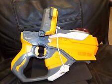 Hasbro 2012 NERF Lazer Tag BLASTER Laser Gun w/iPod iPhone Dock