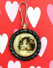 Cats Kittens Cat Kitten Lanyard Backpack Purse Charm Zipper Pull #2 Free Ship