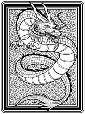 Coloring Page - Dragon # 7 - VORMENGEI (Hi-Res JPG file will be sent by email)
