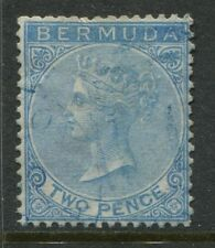 Bermuda 1866 2d blue used