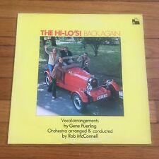 The Hi-Lo's – Back Again Vinyl LP