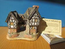David Winter Cottage - Tudor Manor House 1981  with Box, COA