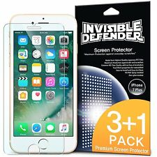 iPhone 7 Plus Screen Protector Ringke® [Invisible Defender] Clear HD Film [4pc]