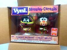 Funko Vynl Fruit Brute Yummy Mummy Sdcc 2018 + sonny cuckoo pkt pop