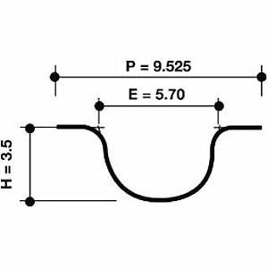 Dayco Timing Belt 941025 fits Daewoo Nubira 1.6 16V