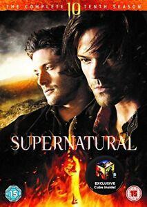 Supernatural - Season 10 [DVD] [2016][Region 2]