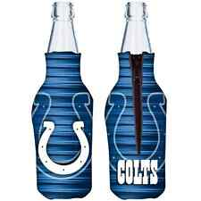 Indianapolis Colts Hunter Mfg Nfl 12oz Bottle Coolie Free Ship