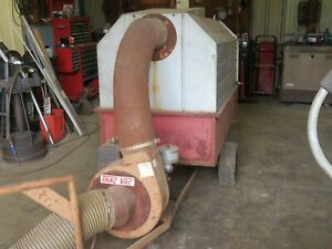 Trac Vac Tow-Behind Leaf Vacuum