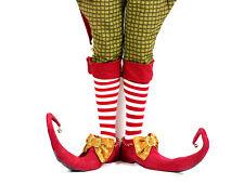 Real Handmade Christmas Elf Jester Shoes