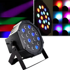 54W 18LED RGB Stage Light Par Lamp DMX-512 Club DJ Party Disco Light Bar Effect