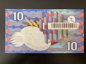 1997 Netherlands Replacement 10 Gulden ( Serie: 100 9377487 ) - UNC -