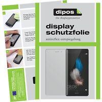 2x Huawei Ascend P8 Lite Schutzfolie matt Displayschutzfolie Folie dipos