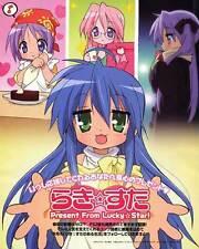 LUCKY STAR (TV) Movie POSTER 11x17 Japanese Q Aya Hirano Emiri Katou Kaori