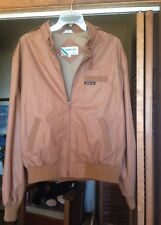 Members Only Cafe Racer Jacket Mens 46 Brown Hipster 80s EuroCraft Streetwear