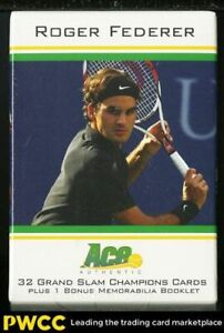 2011 Ace Authentic Roger Federer Factory Sealed Set, 32ct Cards, PATCH
