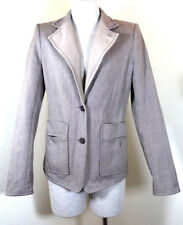 Yves Saint Laurent Rive Gauche Tuxedo Cotton Jacket Blazer Small 40 4 5 6