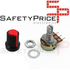 Embellecedor boton + Potenciometro B100K lineal 100k OHM kΩ - Arduino knob 16mm