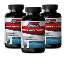 Memory Function Aid - Brain & Memory Booster 777mg - Boost Brain Oxygen Flow 3B