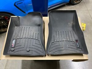 2015-2020 Ford Mustang WeatherTech Front Floor Mats - Aftermarket