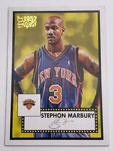 Basketball Cartes2005-06Topps - New York Knicks - Stephon Marbury85