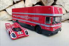 Porsche Mercedes Benz Renntransporter O 317 1:43 Premium ClassiXXs + Porsche 917