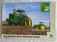 John Deere  225 to 450HP Track Tractors brochure Oct 2002 English text