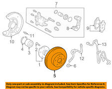 TOYOTA OEM 2000 Echo Front Brake-Disc Rotor 4351252050