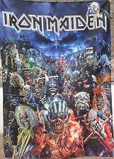 IRON MAIDEN Metal Hammer Magazine FLAG CLOTH POSTER TAPESTRY BANNER CD Eddie
