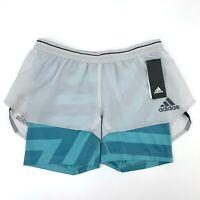Adidas Parley Agravic Terrex 2 in 1 Shorts Women's Size S Lightweight Running