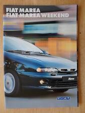 FIAT MAREA SALOON & WEEKEND orig 1997 1998 UK Mkt prestige sales brochure
