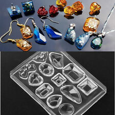Silicone Pendant Mold Making For Resin Earring Necklace Mould Craft DIY Tool