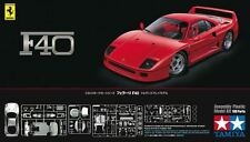 Tamiya 24295 1/24 Scale Super Sports Car Model Kit Ferrari F40 Coupe Berlinetta