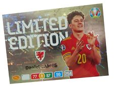 PANINI ADRENALYN XL EURO 2020 LIMITED EDITION DANIEL JAMES