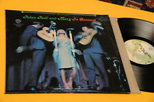 PETER PAUL MARY 2LP IN CONCERT ORIG USA EX+ NM !!! GATEFOLD COVER TOP AUDIOFILI