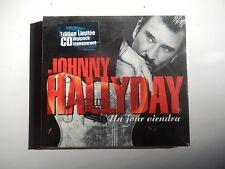 Johnny HALLYDAY digipack CD 2 titres Un jour viendra NEUF SCELLE