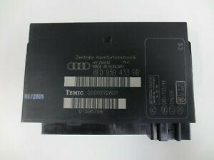 Audi A4 B6 B7 Comfort Control Unit 8E0 959 433 BR