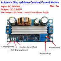 3A DC-DC Automatic CC CV Step Up/Down Converter Charger Module 5V 12V LED Driver