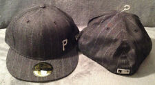 Pittsburgh Pirates New Era MLB 59FIFTY Fitted Hat Black Denim Style Mens 7 5/8