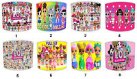 LOL Doll Designs Lampshades, Ideal To Match LOL Dolls Wall Decals & Stickers.