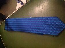 Blue silk tie by Blazer