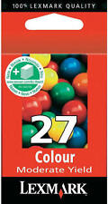 Original Lexmark 27 cartouches z617 z640 z645 i3 z13 z23 z25 z33 z34 x74 10x0217e