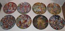 THE FRANKLIN MINT ~ BILL BELL COLLECTOR PLATES ~ CATS Easter Halloween Christmas