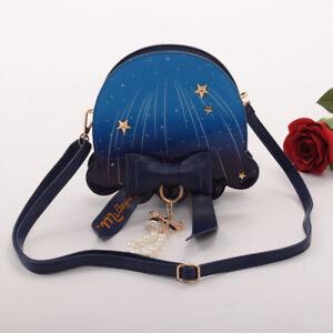 Women Jellyfish Handbag Crossbody Bag Fantasy Submarine Jellyfish Shoulder Bag