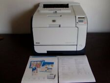 HP LaserJet CP2025dn Printer Low Page Count W/ Configuration Page & Test Print